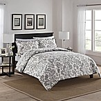 Marble Hill Tanner Reversible Queen Comforter Set in Grey