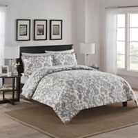 Marble Hill Tanner Reversible King Comforter Set in Grey