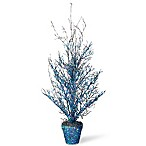 National Tree Company® 26-Inch Halloween Tree in Blue