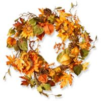 National Tree Company® 25-Inch Sunflower Wreath in Yellow