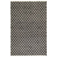 Fab Habitat Ansui 5-Foot x 8-Foot Area Rug in Black/Cream