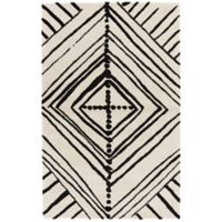 Nikki Chu by Jaipur Living Gemma 8-Foot x 10-Foot Area Rug in White/Black