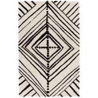 Nikki Chu by Jaipur Living Gemma 9-Foot x 12-Foot Area Rug in White/Black