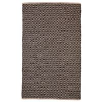 Feizy Norrington 5-Foot x 8-Foot Area Rug in Black