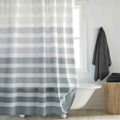 CroscillR Highline Shower Curtain In Grey