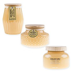 Loft 7 Fresh Pineapple Scented Candle Collection Bed