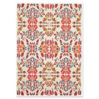 Feizy Girasole Floral 10-Foot x 13-Foot 2-Inch Area Rug in Melon