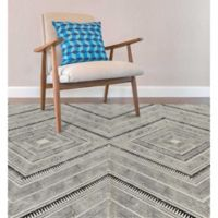 Feizy Cadot 5-Foot x 8-Foot Area Rug in Black