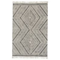 Feizy Cadot 8-Foot x 11-Foot Area Rug in Black