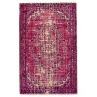 Feizy Boudreau 5-Foot x 8-Foot Area Rug in Pink