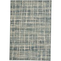 Capel Rugs Jacob-Mirage 7-Foot 10-Inch x 11-Foot Indoor/Outdoor Area Rug in Blue
