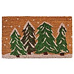 Home & More Winter Wonderland 17-Inch x 29-Inch Door Mat
