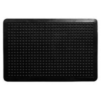 Home & More Anti-Fatigue 24-Inch x 36-Inch Rubber Door Mat in Black
