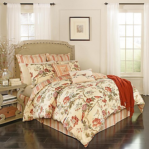 Waverly Charleston Chirp Comforter Set Bed Bath Amp Beyond