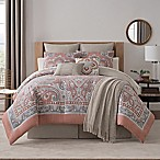 Bridge Street Paisley Medallion 7-piece King Comforter Set in Spice