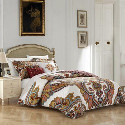 chic home hendra 5piece queen reversible comforter set in beige