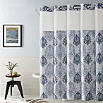 Hookless® Ikat 71-Inch x 74-Inch Shower Curtain in Estate Blue