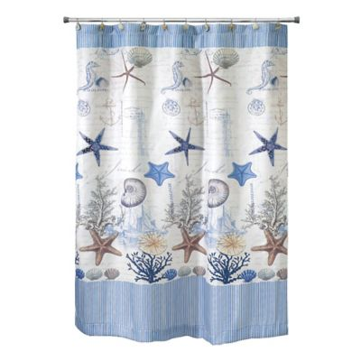 Avanti Antigua 54 Inch X 78 Inch Shower Curtain
