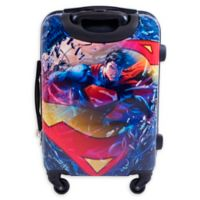 DC Comics™ Superman 21-Inch Hardside Spinner Suitcase