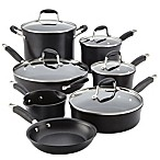 Anolon® Advanced Onyx Hard Anodized Nonstick 12-Piece Cookware Set