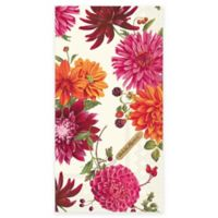 Boston International 16-Count Dahlia Paper Guest Towel Napkin