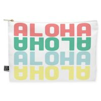 Deny Designs Zoe Wodarz Aloha Again Medium Pouch in Yellow