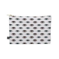 Deny Designs Wesley Bird His N Hers Medium Pouch in White