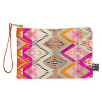 Deny Designs Pattern State Marker Southern Sun Small Pouch in Pink