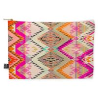 Deny Designs Pattern State Marker Southern Sun Medium Pouch in Pink
