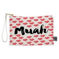 "Deny Designs Allyson Johnson ""Muah"" Small Pouch in Red"