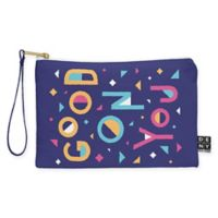 "Deny Designs Nick Nelson ""Good on You"" Small Pouch in Purple"