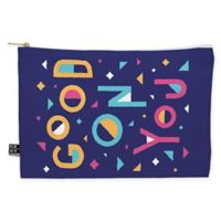 "Deny Designs Nick Nelson ""Good on You"" Medium Pouch in Purple"