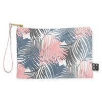 Deny Designs Emanuela Carratoni Pattern Jungle Small Pouch in Blue