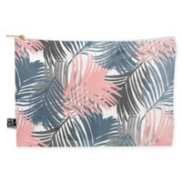 Deny Designs Emanuela Carratoni Pattern Jungle Medium Pouch in Blue