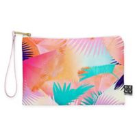 Deny Designs Iveta Abolina Cuban Sunset Small Pouch in Orange