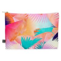 Deny Designs Iveta Abolina Cuban Sunset Medium Pouch in Orange