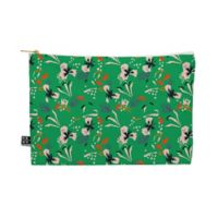 Deny Designs Anthology of Pattern Seville Garden Medium Pouch in Green