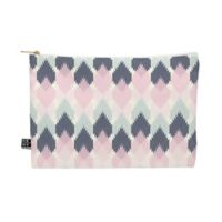 Deny Designs Craftbelly Spring Kilim Medium Pouch in Pink