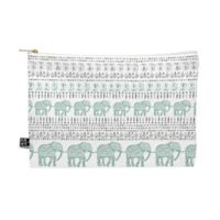 Deny Designs Dash and Ash Delight Way Medium Pouch in Green