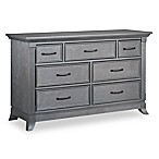 Ozlo Baby Hamilton 7-Drawer Dresser in Marble Grey