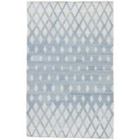 Jaipur Winipeg Indoor/Outdoor 2-Foot x 3-Foot Accent Rug in Blue/Cream