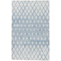 Jaipur Winipeg Indoor/Outdoor 8-Foot x 10-Foot Area Rug in Blue/Cream