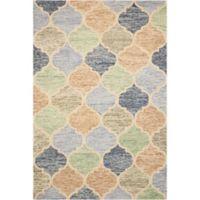 Nourison Vibrant 4' x6' Hand Tufted Light Multicolor Area Rug