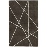 Jaipur Navonna 8-Foot x 10-Foot Accent Rug in Black/White