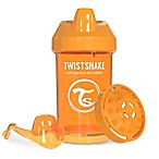 Twistshake 10 oz. Plastic Crawler Cup in Orange