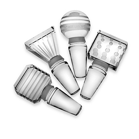 Mikasa® Cheers Bottle Stoppers (Set of 4)