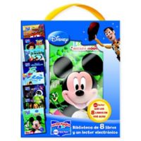 "Disney® Mi Lector™ ""Modernos"" 8-Book and Electronic Reader Set (Spanish)"