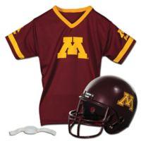 University of Minnesota Kids Helmet/Jersey Set