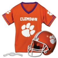 Clemson University Kids Helmet/Jersey Set
