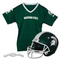 Michigan State University Kids Helmet/Jersey Set